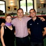 Laura Duchi con Luca Montebelli e Francesco Carboni, Ufficio Stampa