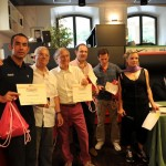 Francesco Carboni, Gianfranco Nobilio, Luca Montebelli e Alessandro Oronzini