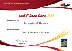 RomaOstia Half Marathon - IAAF Road Race Bronze Label 2017
