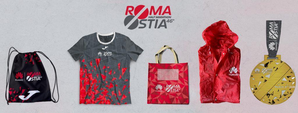 Kit partecipazione RomaOstia 2020